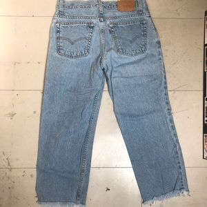 Light blue CROPPED vintage LEVIS